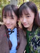 复旦双胞胎姐妹花私照发型大放送[9P]
