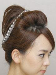 图解怎么用发簪盘头发 日系盘发简单又好看[10P]