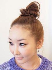 韓式小清新丸子頭圖片分享[5P]