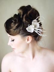 新娘花朵頭飾造型圖片 唯美浪漫[15P]