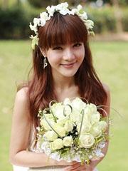 邓家佳结婚 清新女神发型图片欣赏[9P]