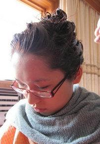 在家染发技巧分享 美女示范自己染发全过程步骤图解[21P]