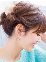 气质好看的韩式盘发图片[5P]