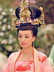 《武媚娘传奇》张庭古装发型照 发髻盘发显华贵[3P]