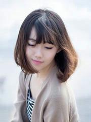 最新女生中短发发型图片[5P]
