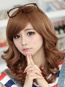 韩国女生长发蛋卷头图片[5P]