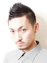 简约时尚的男士短发莫西干头[6P]