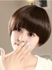 蘑菇头短发发型图片女生[9P]