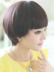 小脸女生适合的蘑菇头短发[6P]