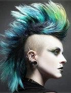 最炫酷男士染发颜色图片
