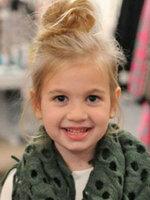 欧美儿童发型女孩扎发图片[9P]