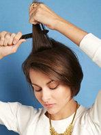 女生短发怎么弄发型好看 编扎梳图解大全[31P]
