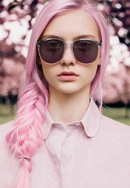 粉红色配什么颜色好看 新潮粉红色头发图片[12P]