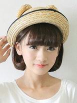 女学生短发内扣发型图片[5P]