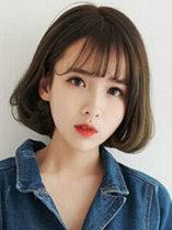 空气刘海内扣漂亮女孩发型照[5P]