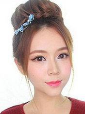 韩式环形花苞头编发教程图解[9P]