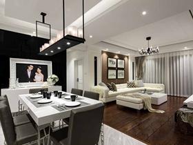 優雅品味新古典主義三居室裝修案例精選