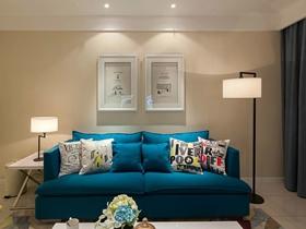 2016创意布置83平简约两室一厅装修图集