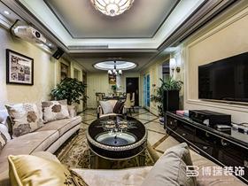 田园气息新古典主义二居室装潢设计