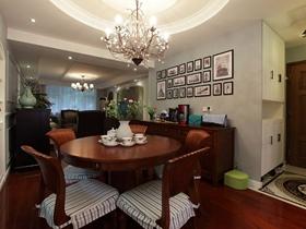 古典沉稳美式二居室设计装潢图集