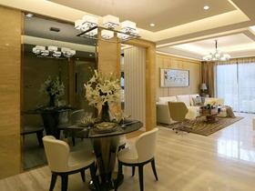 尊贵高端简欧风格二居室装修效果