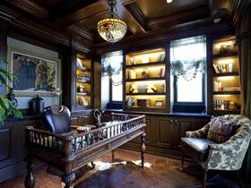 高端典雅美式别墅装潢设计