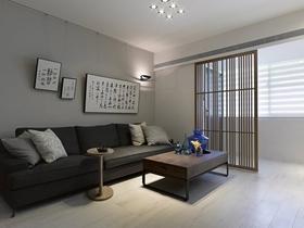 現代中式設計四居室欣賞
