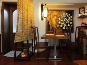 復古中式一居室設計效果圖