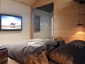 歐式精裝一居室家庭裝修效果圖片