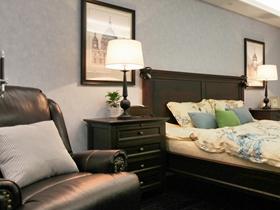 美式簡約風格四居室設計裝飾效果圖