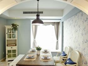 唯美時尚歐式家居二居室裝潢設計