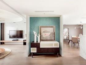 溫馨宜家風格二居室設計
