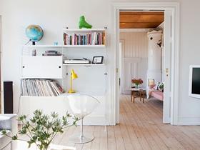 簡歐風格一居室房屋室內裝修效果圖
