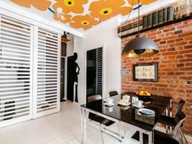 美式簡約風格一居室裝修設計圖片
