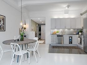 朴素简约风格一居室设计效果图