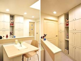 清新簡約風格一居室設計效果圖