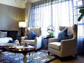精致时尚的新古典三居装修设计