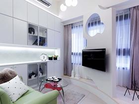 33平方小戶型新古典住宅兼工作室裝修案例