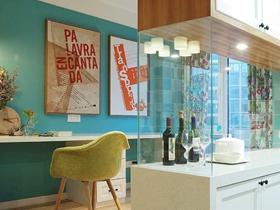 美式現代兩居室裝修設計效果圖