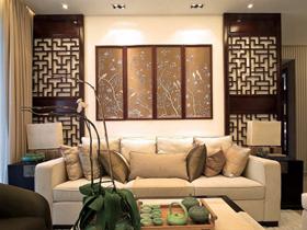 古典韵味中式二居装修效果图