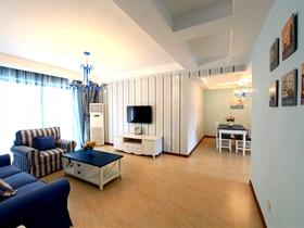 地中海風格兩室兩廳裝修案例