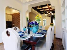 溫馨色彩地中海別墅裝修案例