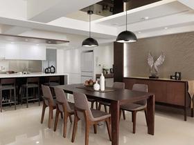 现代休闲四居室设计室内装修效果图
