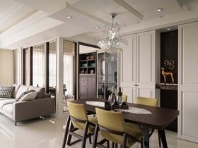 新古典主義風格家裝三房效果圖