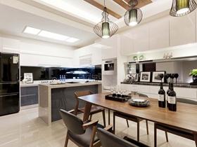 简约风格复式家装效果图片