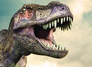 凶残健壮的大恐龙图片