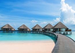 美麗的馬爾代夫海邊風景圖片_10張