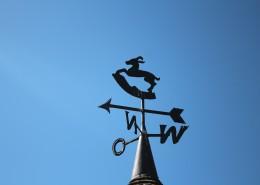 屋頂上的風向標圖片_12張