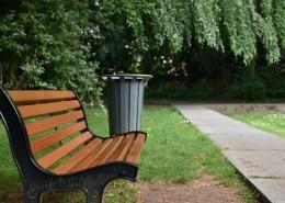 放在戶外的長椅圖片_13張