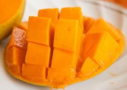 新鮮好吃的芒果圖片_11張